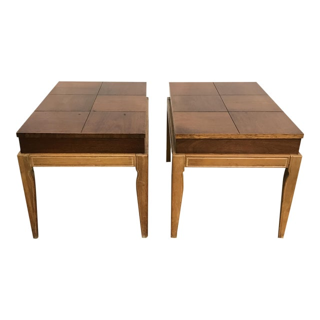 Drexel Casa Del Sol Mid-Century End Tables - A Pair For Sale