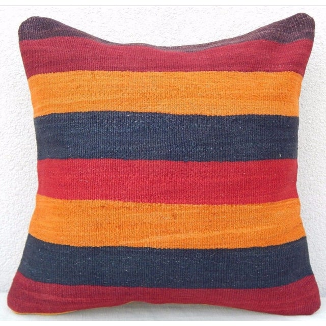 Handmade Turkish Kilim Pillow For Sale In Dallas - Image 6 of 6