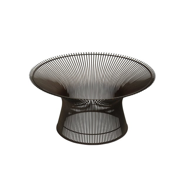 Mid-Century Modern Vintage Warren Platner Coffee Table Base For Sale - Image 3 of 8