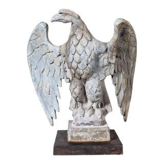 1930s Vintage Left Facing Lead Eagle For Sale