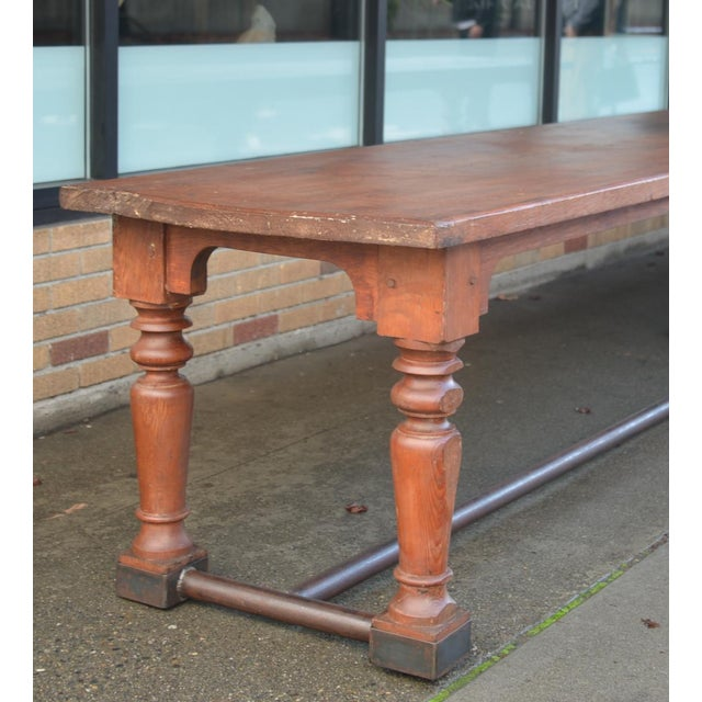 19th Century Fir Dining Table - Image 2 of 6