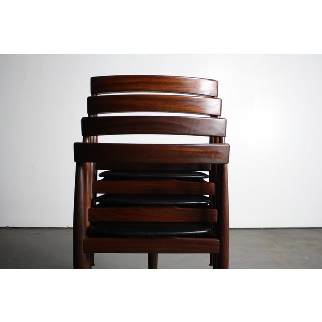 Rosewood Hans Olsen Dining Chairs - Set of 4 - Image 5 of 6