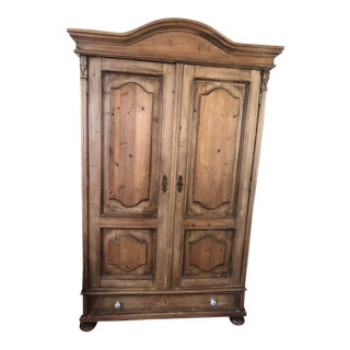 French Provincial ABC Carpet and Home Armoire/ Entertainment Center For Sale