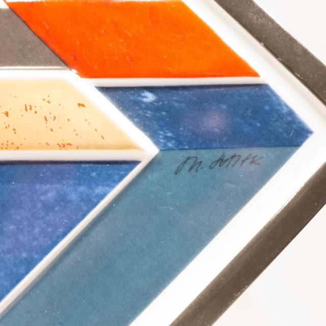Rosenthal Jahresteller Plaque by Otto Herbert Hajek For Sale - Image 5 of 8