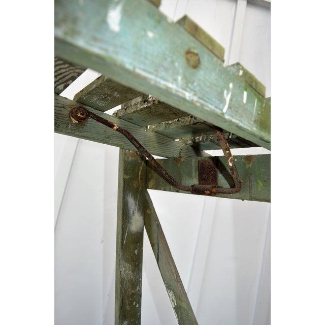1940s 1940s Vintage Garden Ladder For Sale - Image 5 of 8
