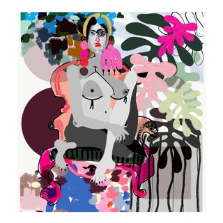 """Femme Botanique"" Limited Edition Print by Annie Naranian For Sale"