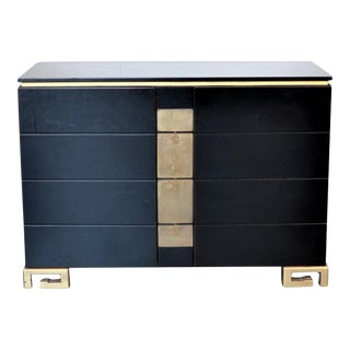 Chinese Black and Gold Cabinet