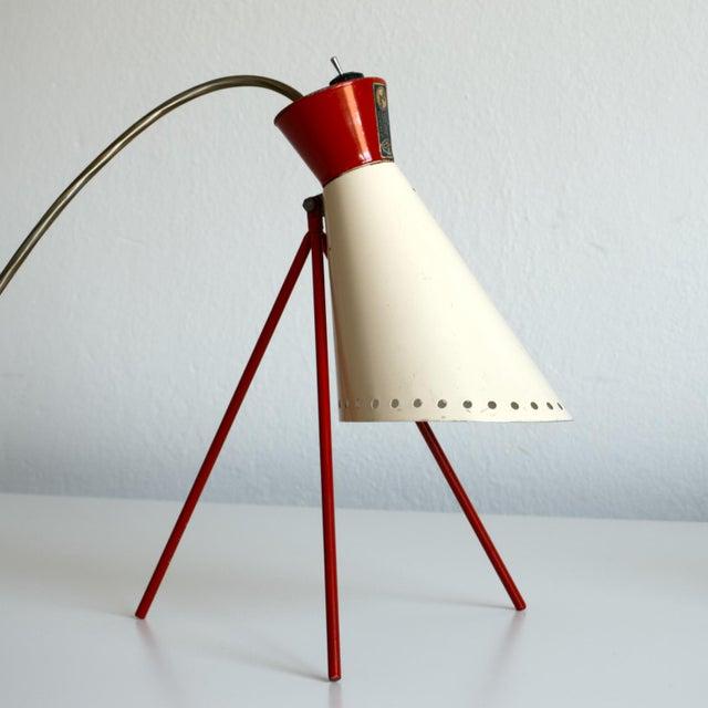 1950s Mid-Century Model 1618 Desk Lamp by Josef Hurka for Napako, Czechoslovakia For Sale - Image 12 of 13