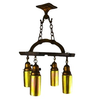 Craftsman Cast Iron Fixture For Sale