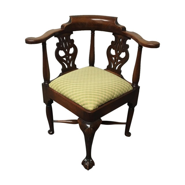 19th Century Corner Chair - Image 1 of 9