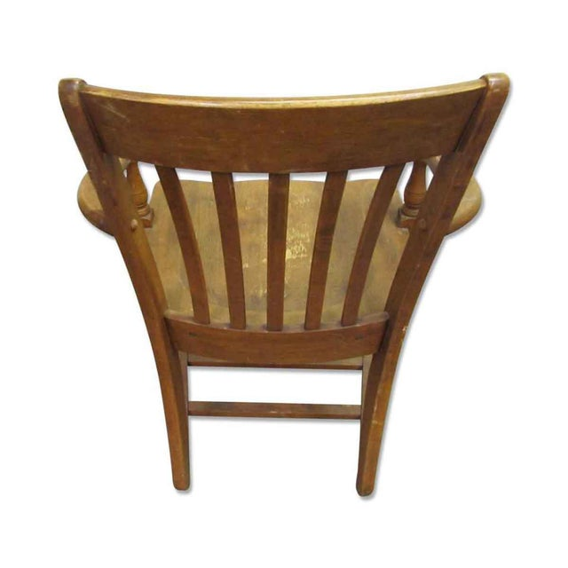 Vintage Wooden Chair For Sale - Image 4 of 7 - Vintage Wooden Chair Chairish