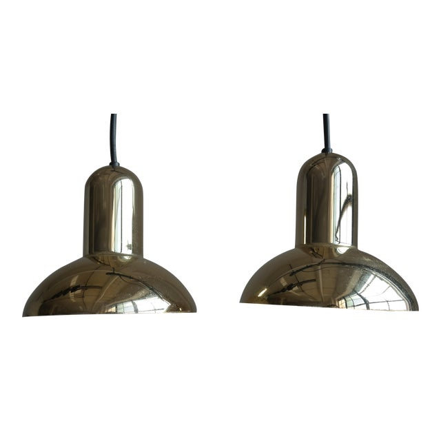 Lyfa Danish Modern Pendant Lighting - A Pair - Image 1 of 6