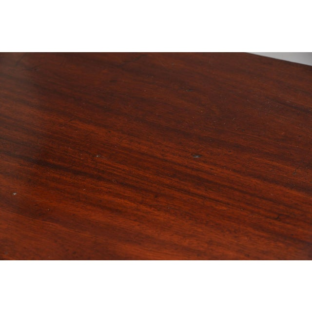 English Mahogany Demi Lune Tables - a Pair For Sale - Image 9 of 13