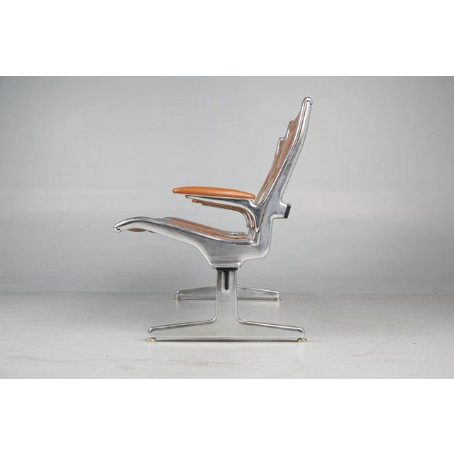 Edelman Leather Two-Seat Tandem Sling by Charles Eames for Herman Miller For Sale - Image 9 of 11