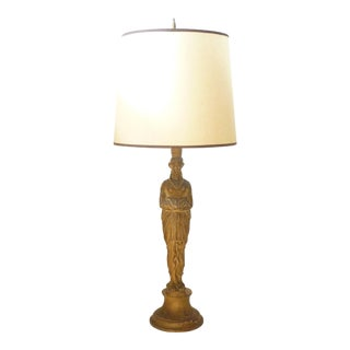 Neoclassical Style Figural Lamp For Sale