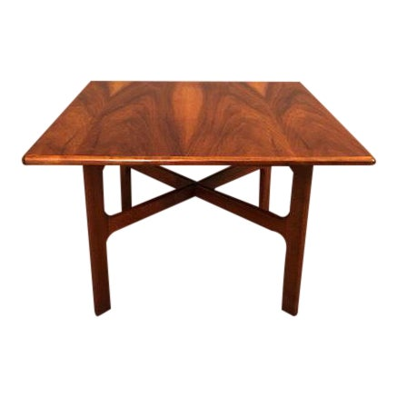 D.Mcguire Mid-Century Walnut Coffee Table For Sale