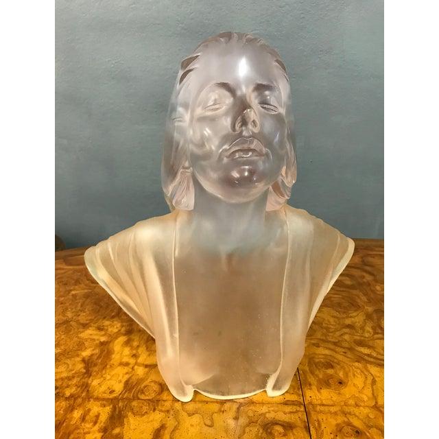 Marc Sijan Rare Vintage Lucite Art Deco Sculpture For Sale - Image 9 of 9
