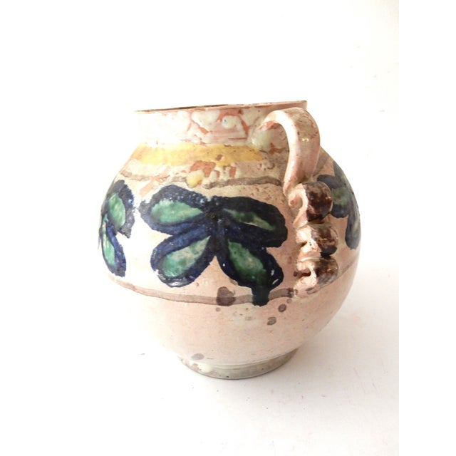 Painted Mexican Pottery Vase - Image 7 of 9