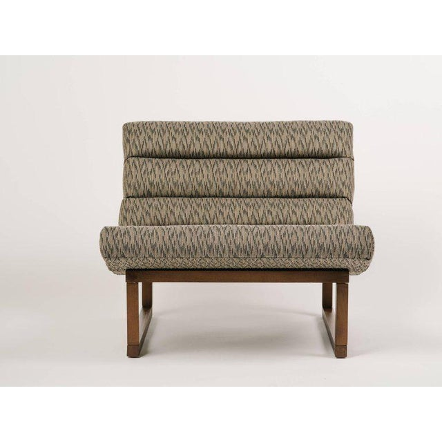 Pair of Mid Century Modern Scoop Lounge Chairs by Milo Baughman For Sale In Miami - Image 6 of 12