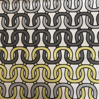 "Schumacher ""Loop De Loop"" Indoor/Outdoor Fabric-3Yards For Sale"