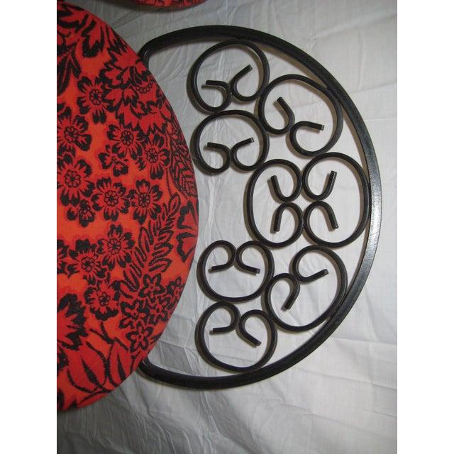 Arthur Umanoff Mid-Century Iron Bar Stools - Set of 4 For Sale - Image 9 of 10