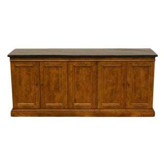 "Henredon Artefacts Collection Slate Top 68"" Buffet For Sale"
