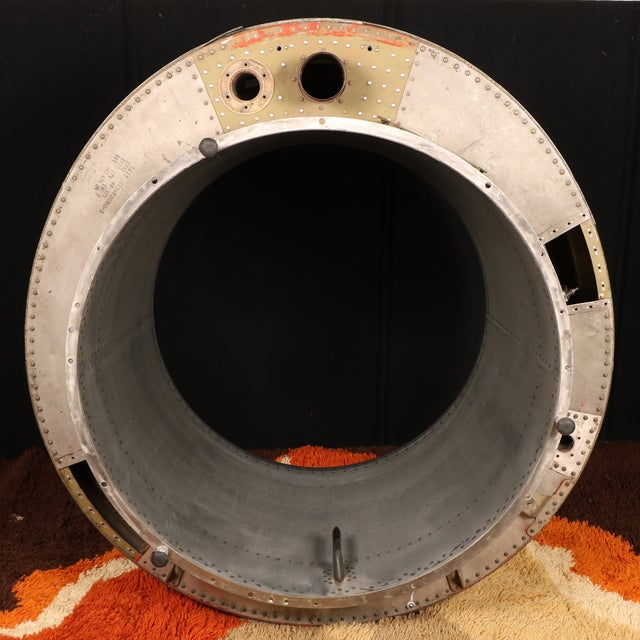Silver G-4 Private Jet Turbine Part For Sale - Image 8 of 11