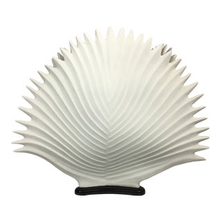 1980s Mangani Palme Porcelain Lamp- Made in Italy For Sale