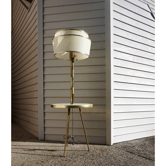 Italian Space Age Table Floor Lamp - Image 4 of 10