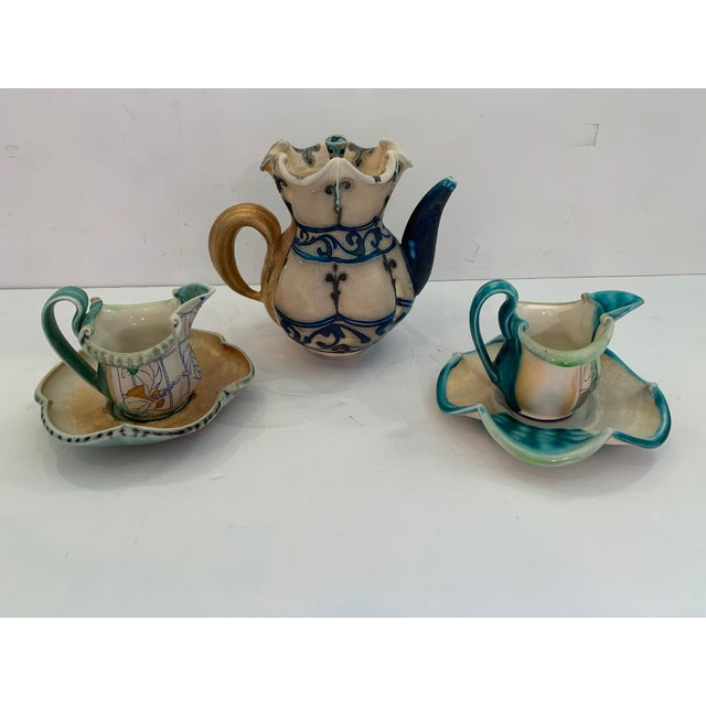 Handmade Pottery by Julia Galloway -Set of 3 For Sale - Image 13 of 13