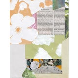 "Image of ""Mess"" Abstract Floral Collage by Frances Sousa For Sale"