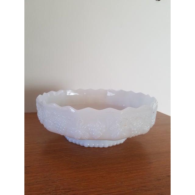 Anchor Hocking White Milk Glass Serving Dish - Image 2 of 3