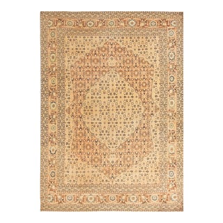 "Antique Persian Tabriz Rug 7'2"" X 10'2"" For Sale"