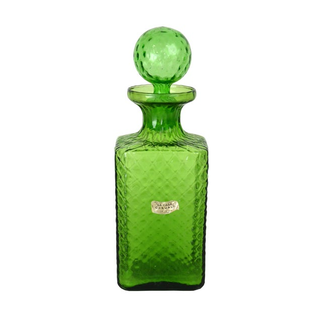 Vintage Italian Quilted Cocktail Decanter - Image 1 of 4