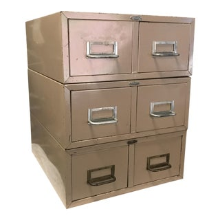 Industrial Card Catalog For Sale