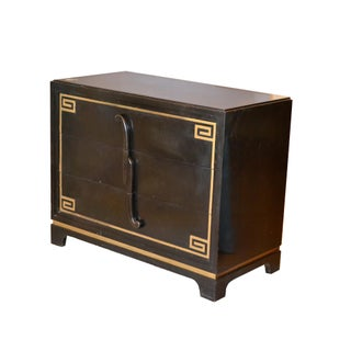 Art Deco Grosfeld House Attributed Greek Key Dressers, Pair Preview