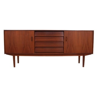 Swedish Teak Credenza by Nils Jonsson for Troeds For Sale
