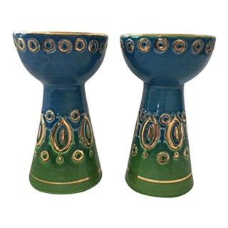 Rosenthal-Netter Mid Centiury Candle Holders - A Pair For Sale