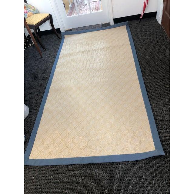 2010s Stark Custom Made Wool Sisal Carpet - 4′ × 8′ For Sale - Image 5 of 5