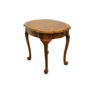 Ethan Allen French Country Burled Wood End / Accent Table Preview