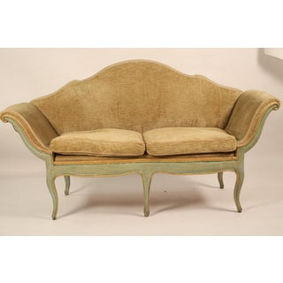 Mid 19th Century Antique Camelback Piedmont Italian Sofa Preview