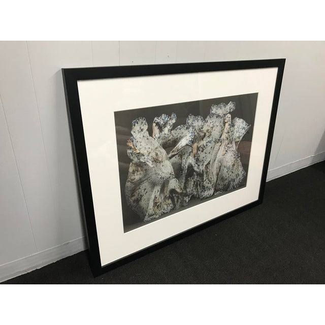 Abstract Framed Alexander McQueen Print For Sale - Image 3 of 4