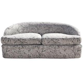 1980s Curvilinear Sofa