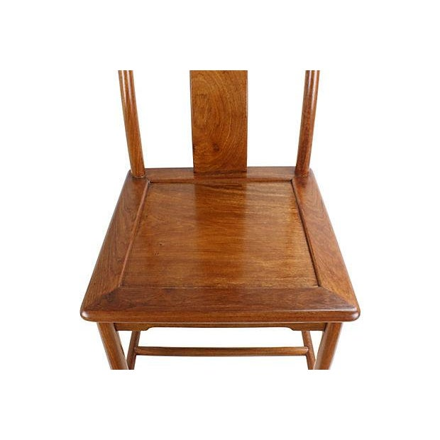 Modern Ming-Style Huali Chairs - A Pair - Image 5 of 5