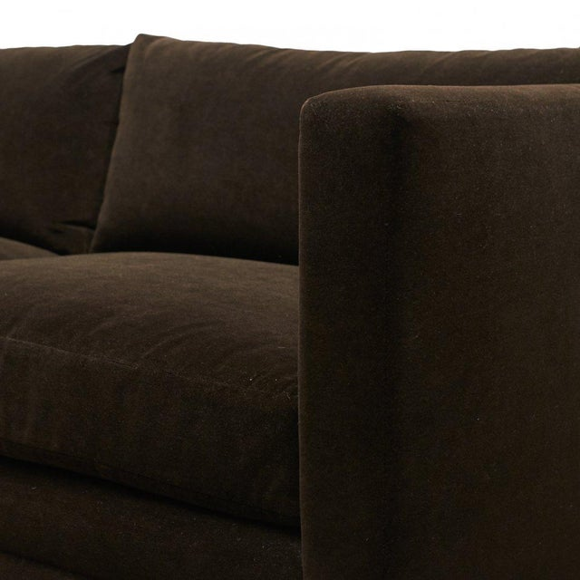 Harvey Probber Chocolate Sofa For Sale In San Francisco - Image 6 of 7