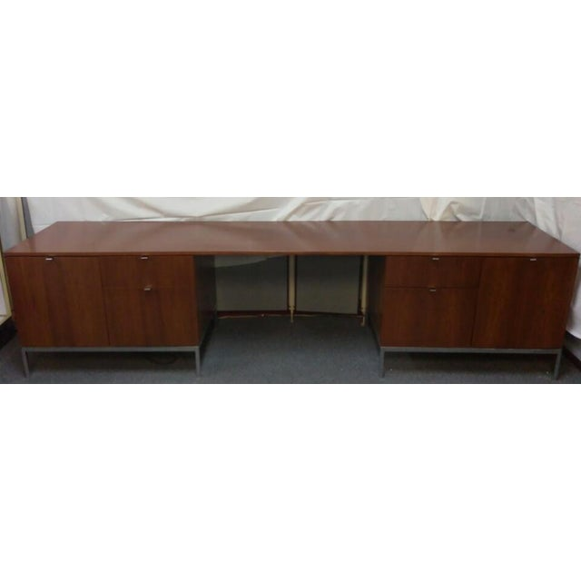 Knoll Mid-Century Modern Wood Credenza - Image 2 of 9
