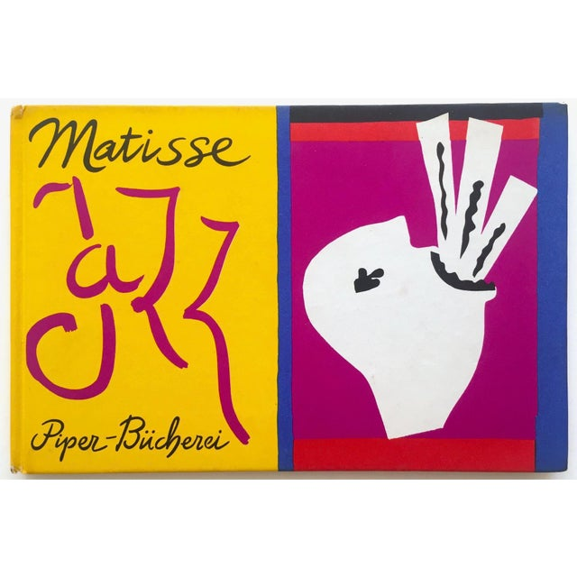 "Henri Matisse "" Jazz "" Rare 1st Edition Vintage 1960 Lithograph Print Museum of Modern Art Collector's Hardcover Art Book For Sale - Image 13 of 13"