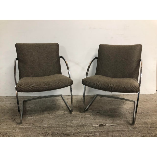 1960s 1960s Original Milo Baughman for Thayer Coggin Lounge Chairs - a Pair For Sale - Image 5 of 9