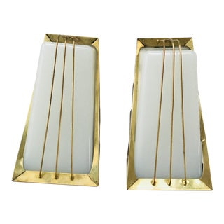 Vintage Art Deco Sconces - A Pair