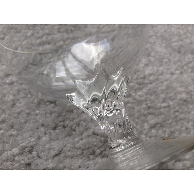 Handmade Crystal Glass Dish For Sale In New York - Image 6 of 9